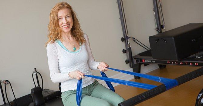 Pilates Reformer Balance+ Strength Exercise