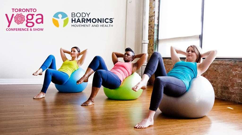 Body Harmonics Core Ball At Toronto Yoga Show
