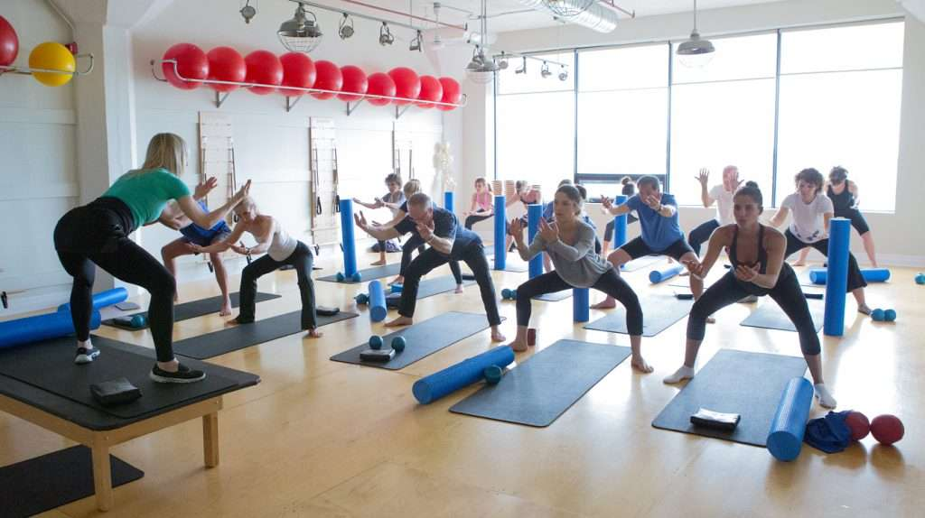 Abs, Hips & Thighs Pilates Class