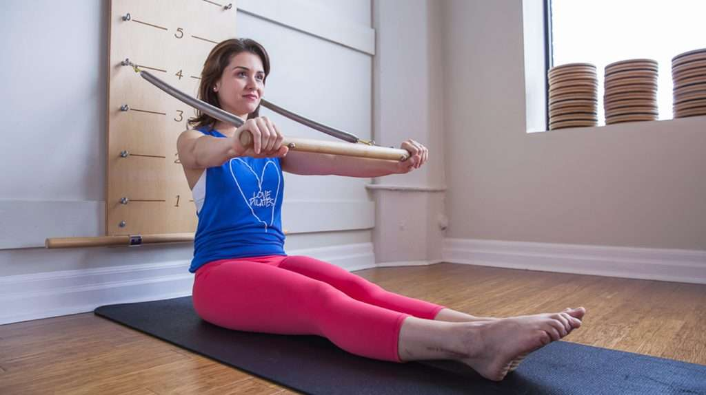 Pilates Springboard exercise sequence