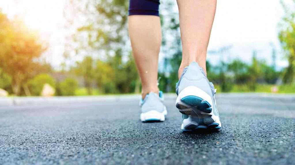 running proper exercise with for movement and health